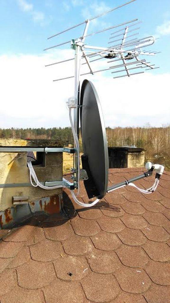 montaż anteny Śląsk, ustawienie anteny Śląsk, serwis anten Śląsk